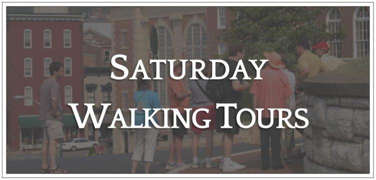 Saturday Walking Tours